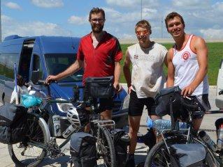 Alex, Anthony und Nicolas aus London