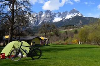 Schöner Campingplatz in Pfarrwerfen an der Salzach