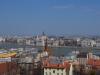 Blick über die Donau auf das Parlament.