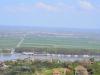 Blick von Bulgarien zurück auf Bechet, meine letzte Station in der wallachischen Tiefebene