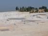 Oben Ruinen von Hierapolis