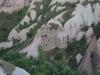 Jahrhundertealte Architektur in Kappadokien