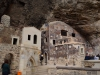 Die in den Felsen gehauene Kapelle