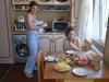 Mittagessen mit Feride und Natia