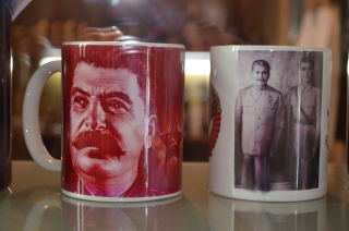 Stalinkult im Souvenirshop