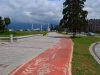 Fahrradwege gibt es auch in Batumi