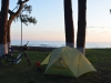 Zelten am Schwarzen Meer