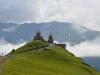 Kloster Gergetis Sameba in Kazbegi
