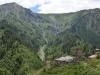 Die charakteristischen Turmhäuser gibt hier in jedem Dorf