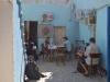 Innenhof und Kommunikationszentrum von Madinas B&B