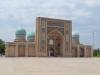 Ankunft in Tashkent, schon hier gibt es beeindruckende orientalische Architektur