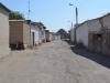 Altstadt von Buchara. In einer Seitenstraße liegt Madinas B&B. Am Ende der Straße der Eingang zu einem der vielen überdachten Basare.