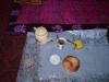 Begrüßung mit Tee, Brot und Yak-Butter