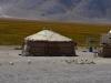 Eine Yurte