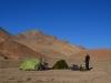 Camp auf 4200m Höhe kurz vor dem Akbaital-Pass