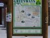 Die Greenways-Route
