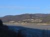Blick über die Donau nach Serbien