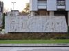 Restaurierte sozialistische Kunst in Pleven