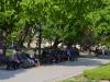 Belebter Park in Stara Zagora mit kostenlosem WLAN