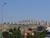 Neubaugebiet bei der Einfahrt in Izmir