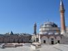 Die Umgebung der Moschee ...
