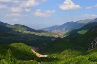 Serpentinen im bergigen Ostanatolien