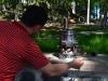Kleiner Teekocher in Trabzon