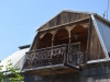 Aufwendiger neuer Balkon
