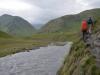 Schöner Weg am Fluss