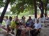 Mittagseinladung von netten Usbeken