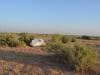 Zelten in der Steppe